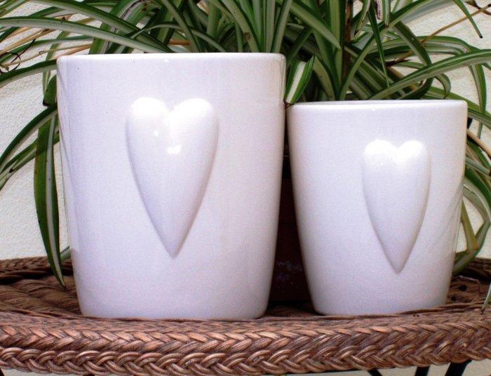 Large Round Ceramic Planter 18 X 15 Cm