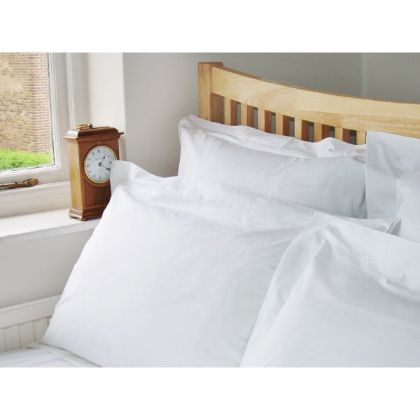 200TC White Egyptian Cotton Flat/Top Sheet