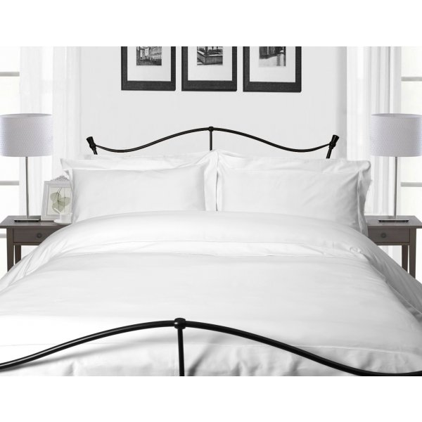 400TC White Egyptian Cotton Flat Sheet