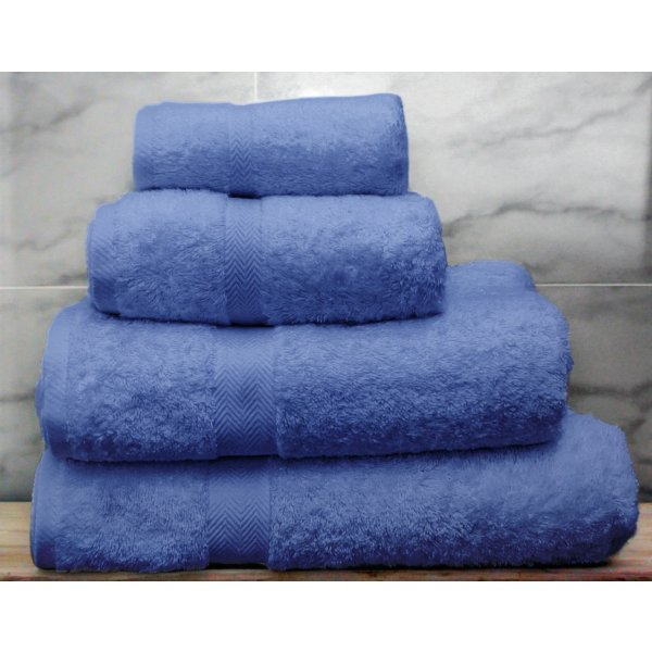 Azure Egyptian Cotton Towels
