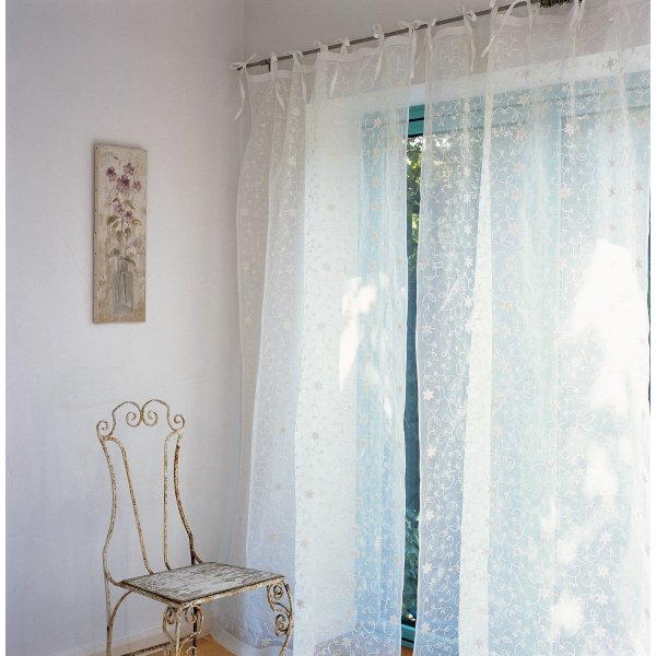 Blooms Curtain Panel 106 x 229 cm