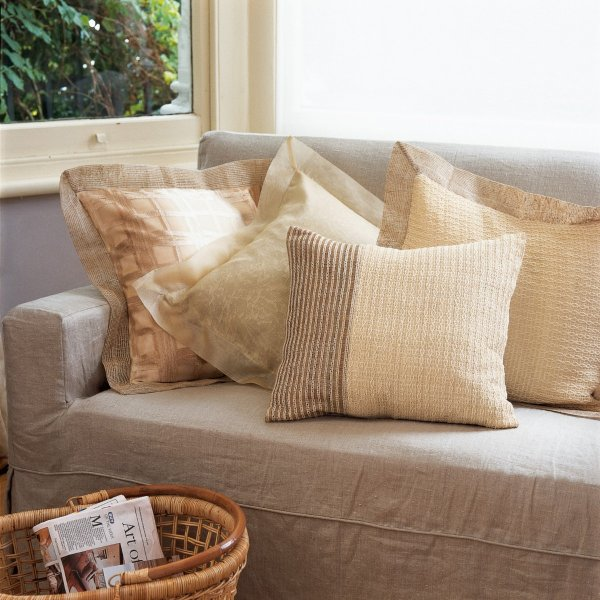 Modern Mixed Fabric Cushion Covers