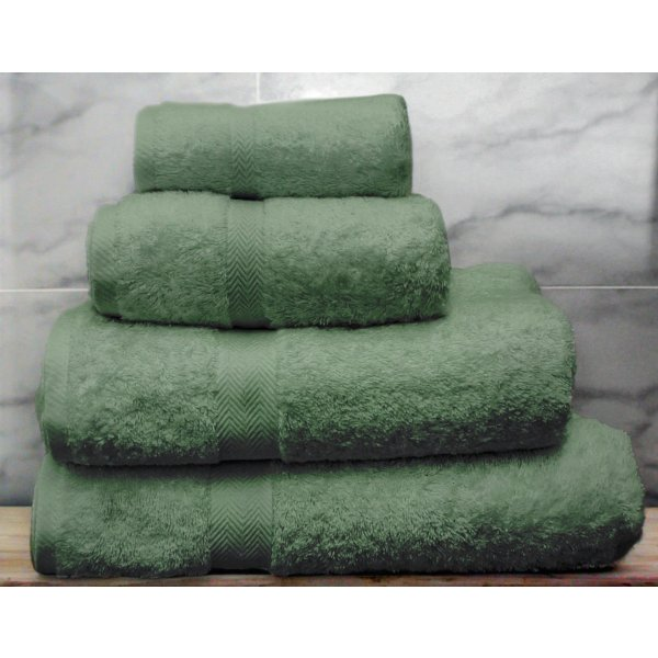 Sage Egyptian Cotton Towels
