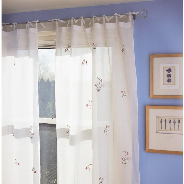 Spring Flower  Curtain Pane 106 x 229 cm