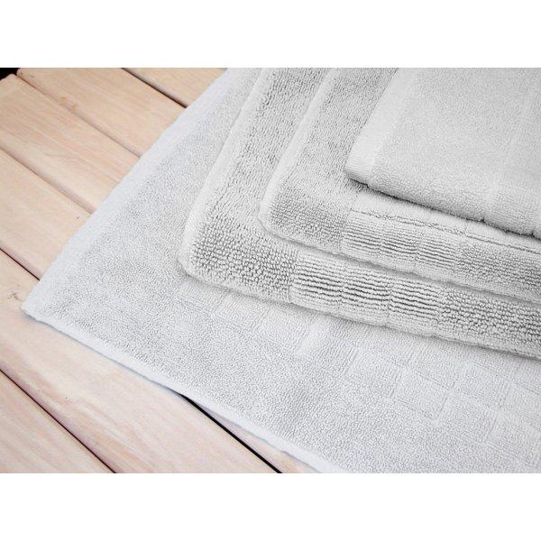 White Bath Mat 90 x 50 cm