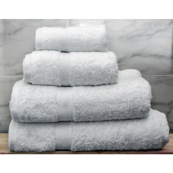 White Egyptian Cotton Towels