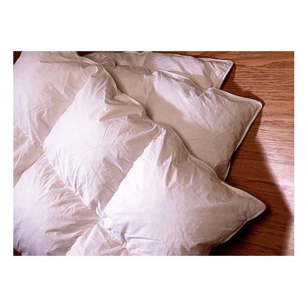 White Goose Down Duvets Pillows