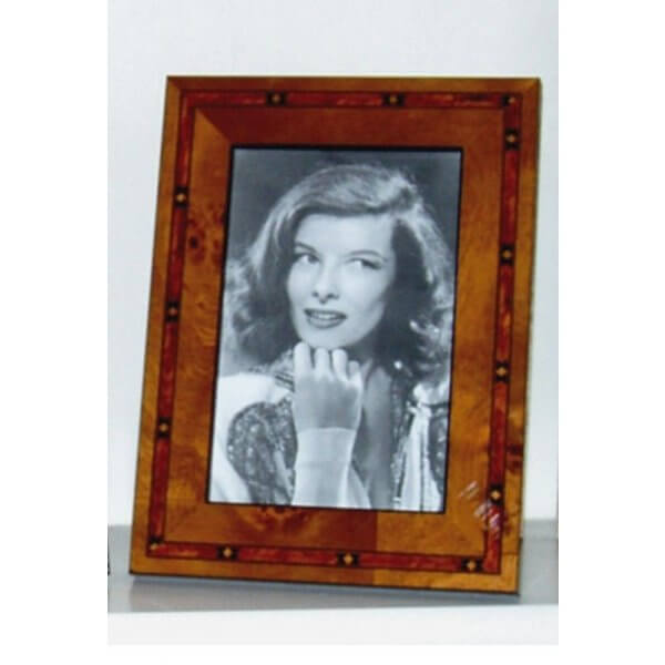 Italian Maple Marquetry Veneer Photo Frame  7 x 5 inch